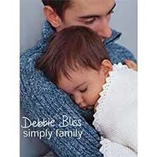 Debbie,Bliss,Simply,Family,Debbie Bliss Simply Family ,knit,crochet,kg krafts,quilting,fabric,sewing,patterns