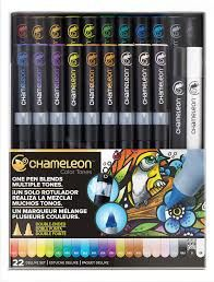 THE CHAMELEON COLOR TONES 22 PEN DELUXE SET - product image