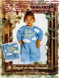 Bernat,Angel,in,My,Pocket,no,1423,  Angel in My Pocket, no 1423,knit,crochet,sweaters,children,kg krafts,quilting,fabric,sewing,patterns