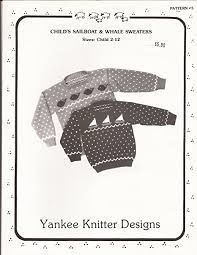Yankee Knitter Designs Pattern 5 - product images