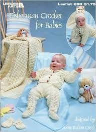 Baby's,Best,to,Knit,and,Crochet,by,Helen,Passey,Leisure,Arts,191,Leisure Arts Fisherman Crochet for Babies Leaflet 288,Sports Weight yarn,patterns,sweaters,children,kg krafts