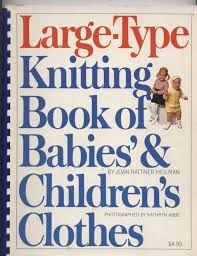 Large Type Knitting Book of Babies' and Children's Clothes - product images