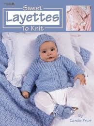 Sweet,Layettes,To,Knit,by,Carole,Prior,Sweet Layettes To Knit by Carole Prior,Sports Weight yarn,patterns,sweaters,children,kg krafts