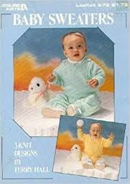 Leisure Arts Baby Sweaters leaflet 572 - product images