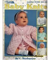 Leisure,Arts,Baby,Knits,leaflet,2780,Leisure Arts Baby Knits leaflet 2780,Sports Weight yarn,patterns,sweaters,children,kg krafts