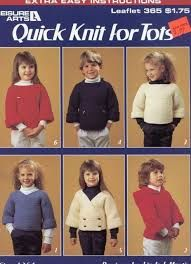 Leisure Arts Quick Knits for Tots leaflet 365 - product images
