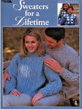 Sweaters for a Lifetime Leisure Arts Designs to Knit - product images