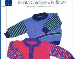 Design by Louise Pinata Cardigan and Pullover no 7 - product images