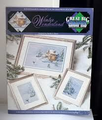 Winter,Wonderland,by,Bertha,S,Dunn,Winter Wonderland by Bertha S Dunn, cross stitch, classic cross stitch, needle arts,kg krafts,needle arts
