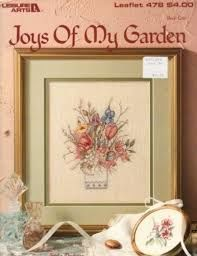 Joys,of,My,Garden,Mary,Vincent,Bertrand,Joys of My Garden Mary Vincent Bertrand, cross stitch, classic cross stitch, needle arts,kg krafts,needle arts