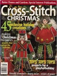 Cross,Stitch,Christmas,1998,Cross Stitch Christmas 1998, cross stitch, classic cross stitch, needle arts,kg krafts,needle arts