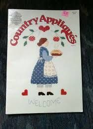 Country,Appliques,Designs,by,Gloria,and,Pat,vol,2,Country Appliques Designs by Gloria and Pat vol 2, cross stitch, classic cross stitch, needle arts,kg krafts,needle arts