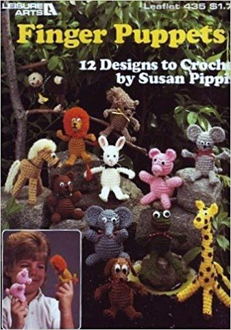 FInger,Puppets,by,Susan,Pippin,FInger Puppets by Susan Pippin,knit,crochet,kg krafts,counted cross stitch,embroidery