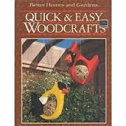Better Homes and Gardens Quick and Easy Woodcrafts - product images