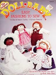 The,Original,Doll,Baby,Easy,Fashions,to,Sew,by,Martha,Nelson,Thomas,The Original Doll Baby Easy Fashions to Sew by Martha Nelson Thomas, kg krafts,yarn dolls, craft supplies,crafts,supplies,indie supplies