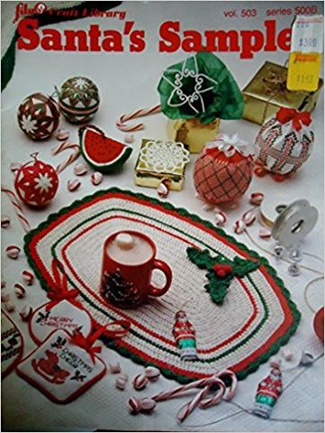 Santa's,Sample,vol,503,series,500B,Lily,Crafts,Library,Santa's Sample  vol 503  series 500B  Lily Crafts Library, kg krafts,yarn dolls, craft supplies,crafts,supplies,indie supplies