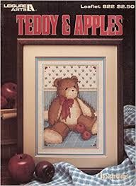 Teddy,and,Apples,by,Susan,Winget,Leisure,Arts,Leaflet,822,Teddy and Apples by Susan Winget Leisure Arts Leaflet 822, kg krafts,yarn dolls, craft supplies,crafts,supplies,indie supplies