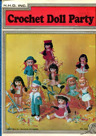 Crochet Doll Party by Jeanne Hawkins no hh4 - product images