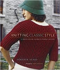 Knitting,Classic,Style,by,Veronik,Avery,Knitting Classic Style by Veronik Avery,kg krafts,craft supplies,knit,crochet,quilting patterns,paper piecing