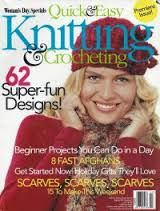 Quick,and,Easy,Knitting,Crocheting,Premiere,Issue,Woman's,Day,Special,Quick and Easy Knitting and Crocheting Premiere Issue Woman's Day Special,kg krafts,knit,crochet