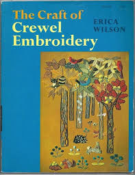 The,Craft,of,Crewel,Embroidery,by,Erica,Wilson,The Craft of Crewel Embroidery by Erica Wilson,sewingkg krafts,knit,crochet