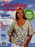 Knitting,with,Simplicity,Summer,1986,Knitting with Simplicity Summer 1986,kg krafts,knitting,patterns