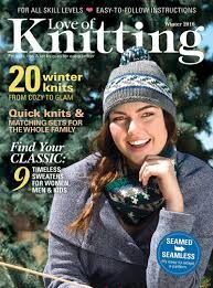 Love of Knitting WInter 2016 - product images