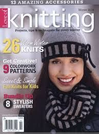 Love of Knitting WInter 2014 - product images