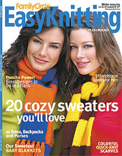 Easy,Knitting,Family,Circle,Winter,2004/2005,Easy Knitting  Family Circle Winter 2004/2005, patterns, knits, crochet, instructions