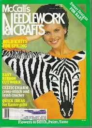 McCalls Needlework & Crafts April 1987 - product images