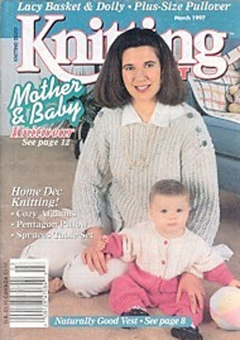 Knitting,Digest,March,1997,Knitting Digest  March 1997,crochet,knit,magazine,kg krafts,sewing, crafts,supplies