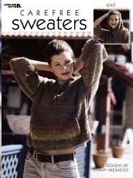 Carefree Sweaters by Tammy Kreimeyer for Leisure Arts  #3247 - product images