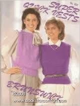 Super,Quick,Vests,by,Brunswick,vol,853,Super Quick Vests by Brunswick vol 853,kg krafts,knit,crochet