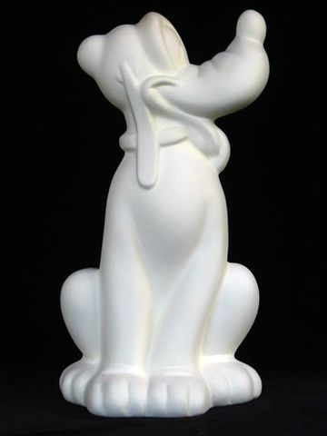 Pluto,unpainted,Ceramic,Bisque,ready,to,paint,ceramic bisque,ready to paint,ceramics, bisque,kg krafts,walt disney,disney,dog,gare molds,jodi molds