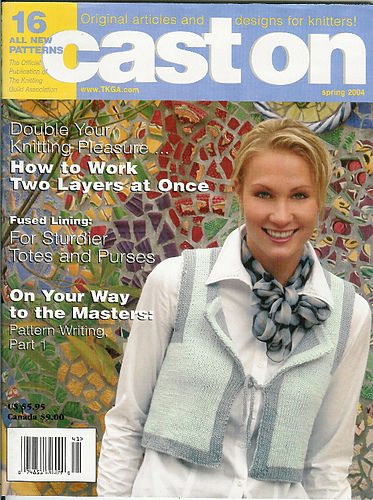 Cast On for Knitters Spring 2004 - product images