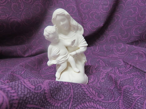 Madonna,and,Child,Statuette,Unpainted,Ceramic,Bisque,ceramic bisque,ready to paint,ceramics, bisque,kg krafts,madonna and child