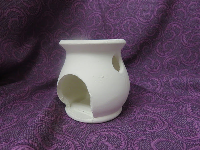 Candle Melting Pot Ceramic Bisque Ready to Paint - product image