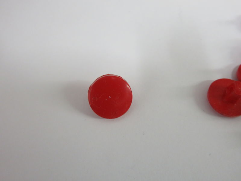 Red Shank Buttons Package of 50 pieces - product image