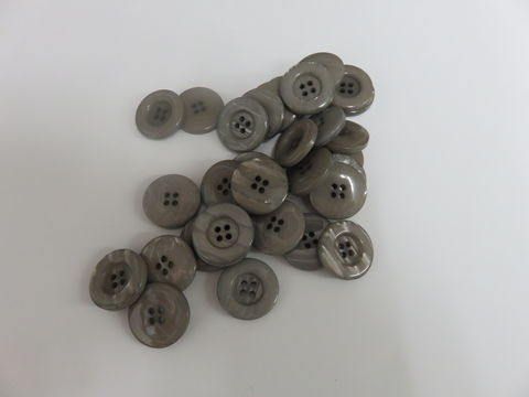 Gray,Four,Hole,Buttons,50,pc,package,buttons,pearlized,four holed button,sewing,round button,kg krafts,home decor