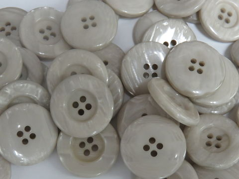 Light,Taupe,Four,Hole,Buttons,50,pc,package,buttons,pearlized,four holed button,sewing,round button,kg krafts,home decor