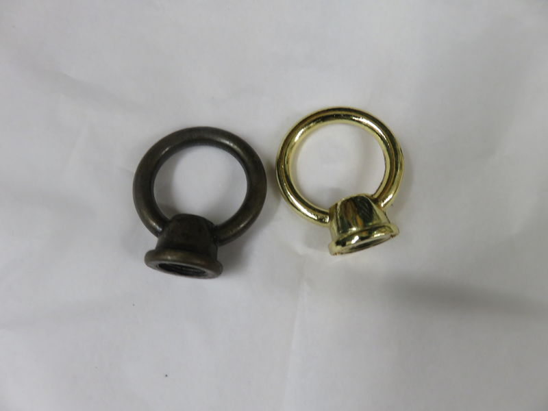 Solid Brass Finial Loop  Lamp Parts - product image