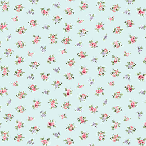 Morning in the Garden Quilt Fabric Collection #3 small floral - product image