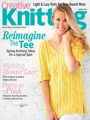 Creative,Knitting,Spring,2018,books, creative knitting, knitting, yarn, circular knitting, kg krafts,Creative Knitting Spring 2018