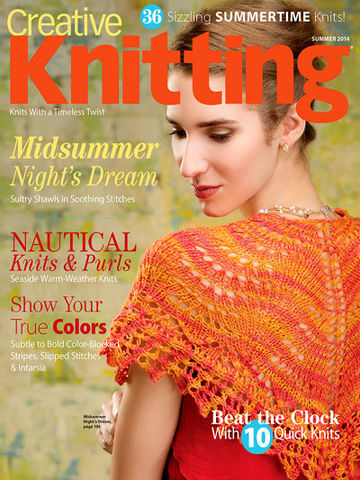 Creative,Knitting,Summer,2014,books, creative knitting, knitting, yarn, circular knitting, kg krafts,Creative Knitting Summer 2014