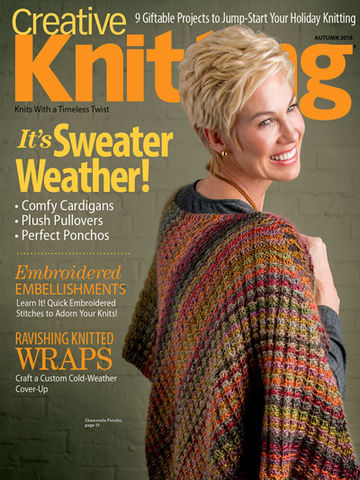 Creative,Knitting,Autumn,2018,books, creative knitting, knitting, yarn, circular knitting, kg krafts,Creative Knitting Autumn 2018