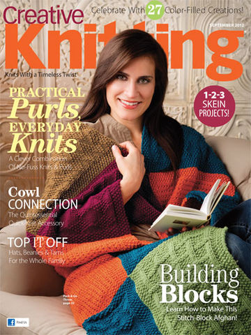 Creative,Knitting,September,2012,books, creative knitting, knitting, yarn, circular knitting, kg krafts,Creative Knitting September 2012