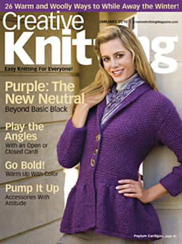 Creative,Knitting,January,2010,books, creative knitting, knitting, yarn, circular knitting, kg krafts,Creative Knitting January 2010