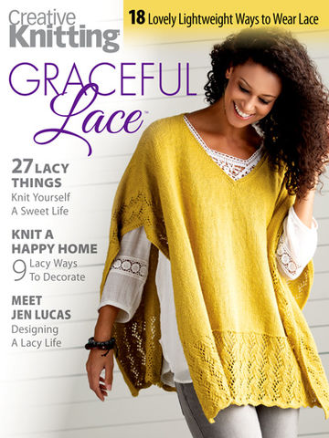 Creative,Knitting,Graceful,Lace,books, creative knitting, knitting, yarn, circular knitting, kg krafts,Creative Knitting Graceful Lace