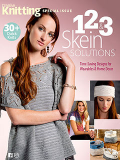 Creative,Knitting,1,,2,,&,3,Skein,Solutions,books, creative knitting, knitting, yarn, circular knitting, kg krafts,Creative Knitting 1, 2, & 3 Skein Solutions