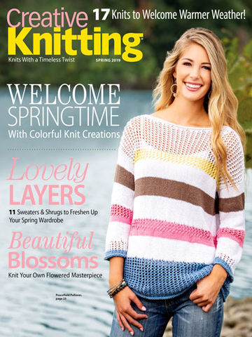 Creative,Knitting,Spring,2019,books, creative knitting, knitting, yarn, circular knitting, kg krafts,Creative Knitting Spring 2019